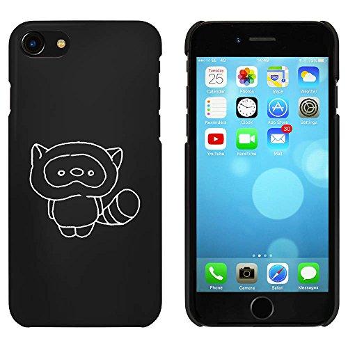 Noir 'Raton Laveur Mignon' étui / housse pour iPhone 7 (MC00081505)