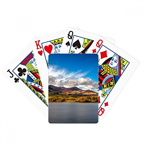 Mountain Crystal Lake Science Nature Scenery Poker Playing Card Tabletop Board Game Gift by beatChong