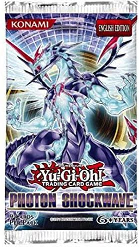 YuGiOh ZEXAL Photon Shockwave Booster Pack [Toy]: Amazon.es: Juguetes y juegos
