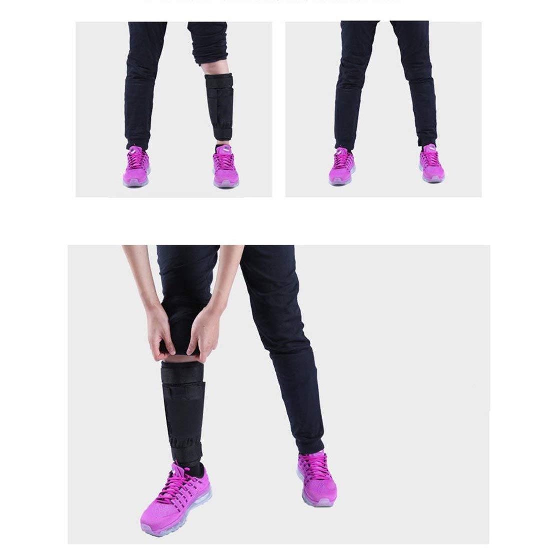 Kaemma Equipo de Entrenamiento de Legging de Brazo//Tobillo Ajustable Pesas Bolsa de Arena 1-20 kg Entrenamiento con Pesas para Boxeo Gym Running