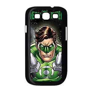 Samsung Galaxy S3 9300 Cell Phone Case Black_Green Lantern Power Up Ekwkt
