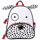 Skip Hop Zoo Toddler Kids Backpack, Dalmatian, Boy, White, 12-inches Image