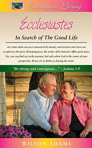Download Ecclesiastes: In Search of the Good Life pdf