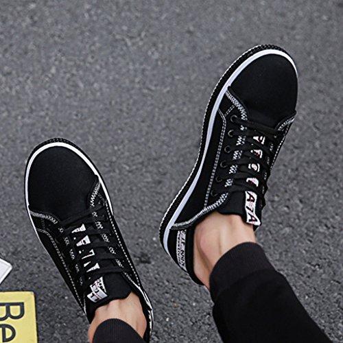 Color da da coreano Size nuove tela Estate 40 casuali traspiranti Espadrillas Yellow Bianca di basse ginnastica scarpe scarpe selvaggia scarpe uomo Scarpe qnTgA
