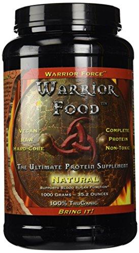 WarriorForce: Warrior Food Extreme Protein Supplement V 2.0 Natural 1000 g Powder