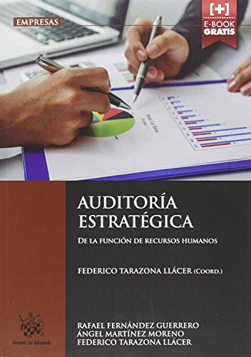 Descargar Libro Auditoría Estratégica De La Función De Recursos Humanos Rafael Fernández Guerrero