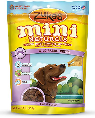Zuke'S Mini Naturals Dog Treats, Wild Rabbit, 16 Ounce