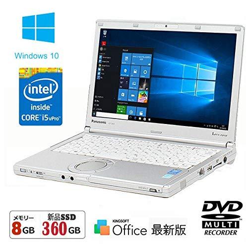 品揃え豊富で 【SSD 360GB(新品)搭載】 B07PTYQTJY【Win 10搭載 SX3】パナソニック Let's i5 note SX3★第4世代Core i5 1.9GHz/8GBメモリ/12.1インチ/WiFi/DVDマルチ【最新版Office、新品無線マウス】中古パソコン B07PTYQTJY, 天塩町:9af0c6a3 --- ciadaterra.com