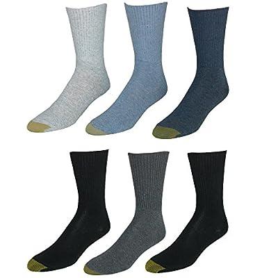 Gold Toe Women's 6-pack Turn Cuff Sock