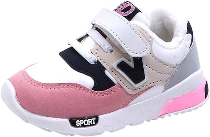 Amazon.com: Bebé Niño Niñas Niños Zapatos De Running Otoño ...