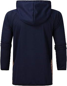 JiaMeng Chándal para Hombre Casual Slim Fit Zipper Sudadera ...