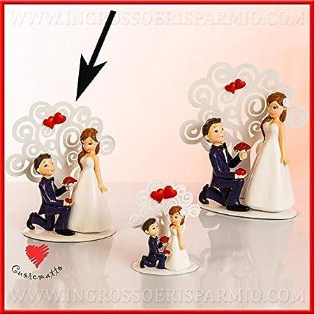 Costo Medio Bomboniere Matrimonio.Cuorematto Statuine Sposi In Resina Con Albero Della Vita In