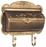 Special Lite Products SHB-1004-BR Hummingbird Horizontal Mailbox, Bronze