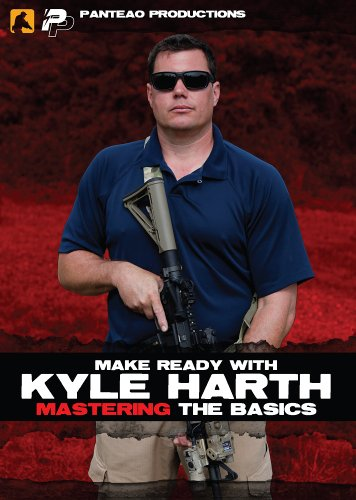 (Panteao Productions: Make Ready with Kyle Harth Mastering the Basics - PMR046 - AR15 - M16 - M4 - Special Forces - Green Beret - Carbine Training - Tactical Training  - Carbine - DVD)