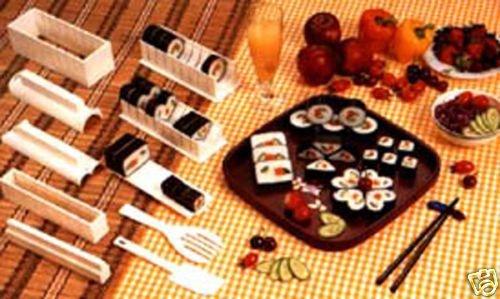 Sushi Master Maker Kit Rice Mold Former Moulder Molder Making Set with Knife