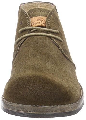 Wrangler Stone Desert - botas desert de cuero hombre beige - Beige (29 Taupe)