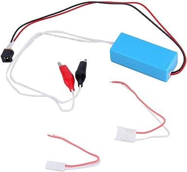 FYstar 12V CCFL Probador de inversor de lámpara para LCD TV Pantalla portátil Laptop Lampada Tube Repair Test Herramienta de reparación profesional (azul): Amazon.es: Bricolaje y herramientas