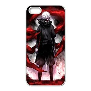 Tyquin Tokyo Ghoul Cool Case for IPhone 5,5S, with White