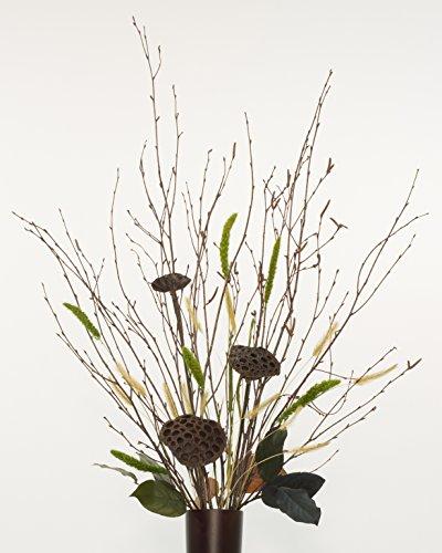 Green Floral Crafts DIY Branches & Lotus Pods Kit