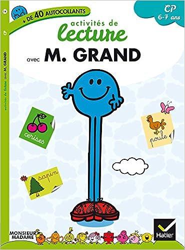 Livres gratuits Monsieur Grand - CP - Lecture pdf epub