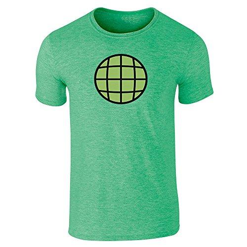 Planeteer TeamHalloween Costume Vintage Retro 90s Heather Irish Green M Short Sleeve T-Shirt -