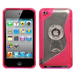 Apple Ipod Touch 4th Generation Protective Case Cover (Pink Fusion)
