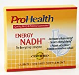 ProHealth Energy NADH (12.5 mg, 90 tablets) Boost Energy, Mental Clarity, Alertness and Concentration | Unique Cellulose Matrix Coating for Enhanced Absorption | Gluten Free | Dairy Free | Vegetarian Review