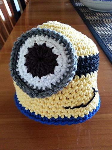 Amazon Hand Crochet Minion Beanie Hat Baby Handmade
