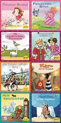 Pixi-Bundle 8er Serie 172: Prinzessin, Ritter und Gespenster