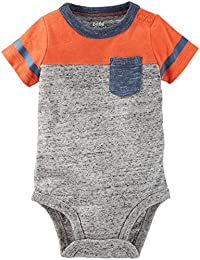 OshKosh B'gosh Baby Boys' Speckle Marl Bodysuit