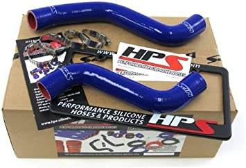 For Toyota Tacoma 3.4L V6 AT 1995-2004 Blue Silicone Radiator Upper Lower Hoses
