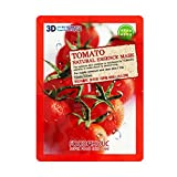3d Sheet Mask Missha 10 pcs Tomato FOODAHOLIC 3D Natural Pulp Face Mask Sheet + 1pcs Free NAEXY 2-Steps Facial Mask Sheet (Total 11pcs)