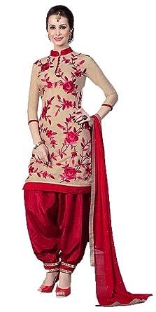 e6b8e4829e Great Indian Sale Women party wear Salwar Suit Dress Material ...