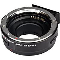 Viltrox EF-M1 Auto Focus Lens Mount Adapter Ring AF ,EXIF Adapter for Canon EF/EF-S Lens to M4/3 Olympus /Panasonic cameras ,with USB interface