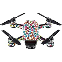Skin For DJI Spark Mini – Color Bugs   MightySkins Protective, Durable, and Unique Vinyl Decal wrap cover   Easy To Apply, Remove, and Change Styles   Made in the USA