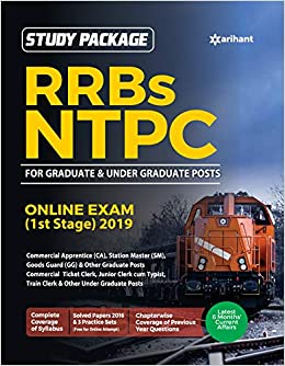 Buy RRB NTPC Guide 2019 Book Online at Low Prices in India   RRB