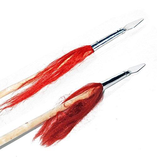 Tiger Claw Long Weapon - Wushu Wax Wood Spear - Single Headed
