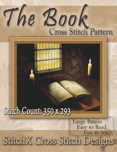 The Book Cross Stitch Pattern