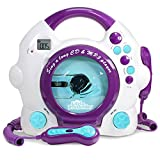 Little Pretender Kids Karaoke Machine - CD & MP3 Player Sing-A-Long Music Player with 2 Microphones