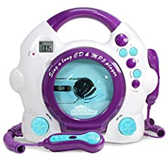 MP3 CD Player with Microphone