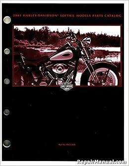 Harley Davidson Motorcycle Parts Diagram | 99455 01b 2001 Harley Davidson Softail Motorcycle Parts Manual