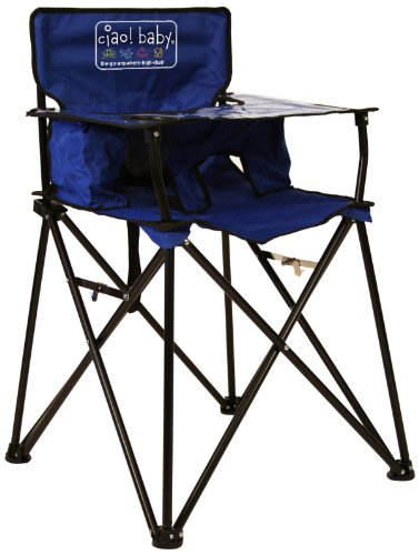Why Choose ciao! baby Portable Travel Highchair, Blue