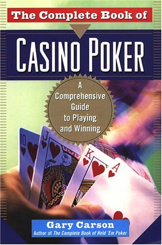 The complete book of casino poker blogspot gambling