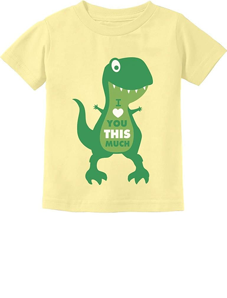 047af9697 Amazon.com: TeeStars - Mother's Day I Love You This Much T-Rex Toddler Kids  T-Shirt: Clothing