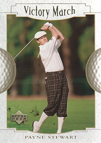 2001 Upper Deck Golf #175 Payne Stewart Victory March (Card Deck Upper Golf)