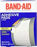 Best Adhesive Bandages - Band-Aid Brand Adhesive Bandages, Large Adhesive Pads, 10-Count Review