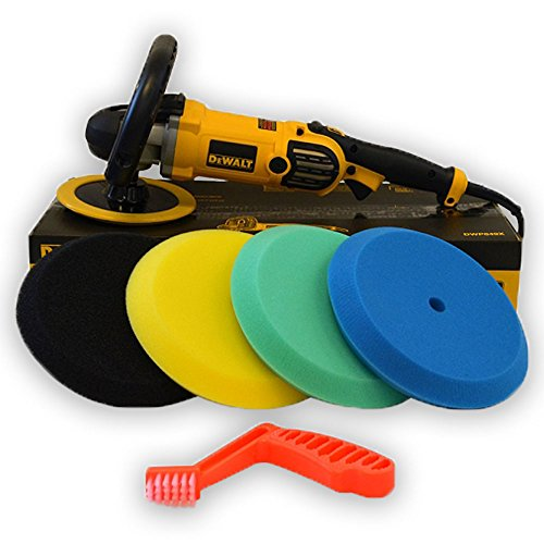 DeWalt Buffer Edge Foam Pad Kit Value Package