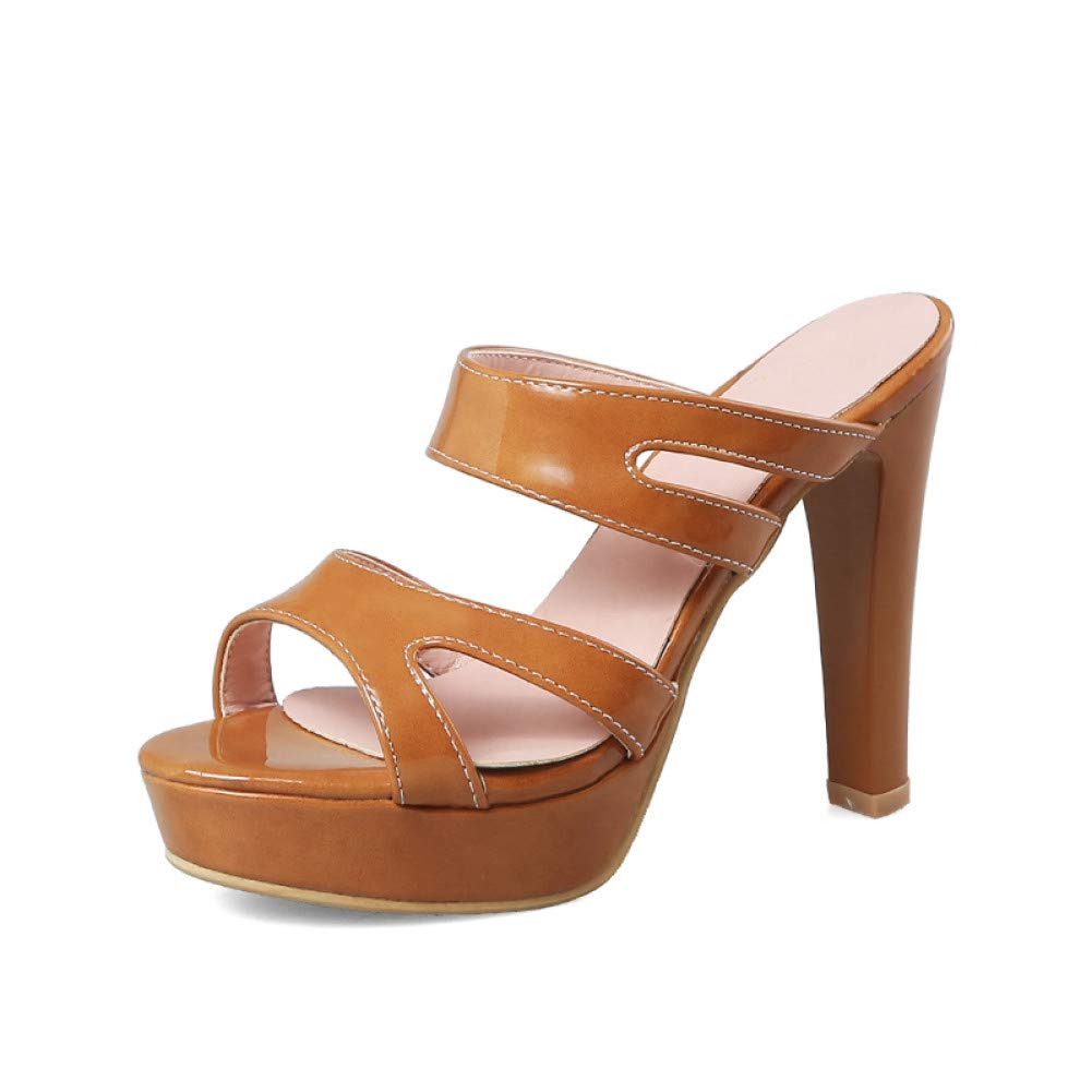 Ai Ya-liangxie 32-43 Dropship Dropship Dropship Plattform Sommer Pantoletten Pumps Schuhe Frauen Sexy High Heels Datum Frau Schuhe c41540
