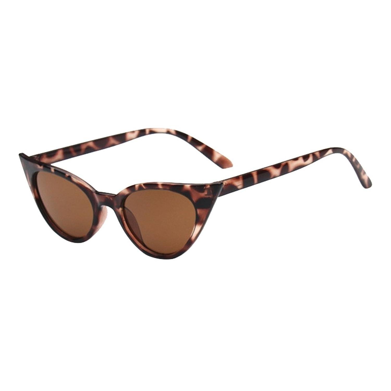 LINNUO Unisex Gafas de Sol Ojo de Gato Clásico Sunglasses Eyewear Retro Mujer Hombres