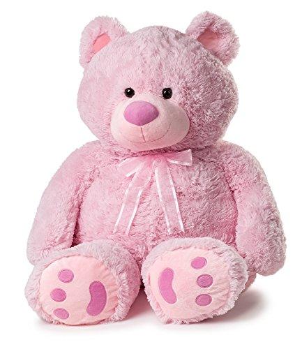 Girl Teddy Pink (Huge Teddy Bear - Pink)